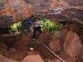 Tan Phu cave measuring entrance