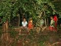 Tan Phu caves local kids